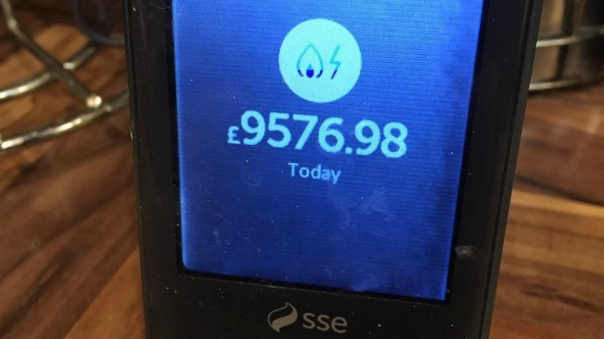 SSE apologises after smart meter error warns of £33,000 charge for day's power