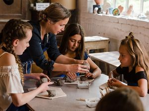 There are two clay play sessions at Coalport China Museum