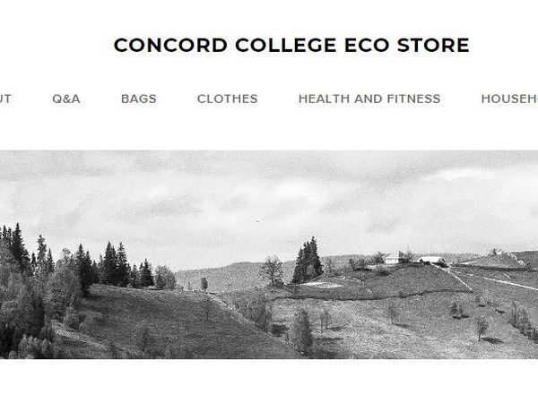 Concord College's student-led Eco Club have launched an Eco Store