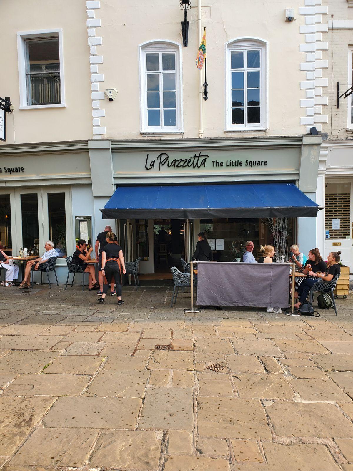 La Piazetta a Shrewsbury