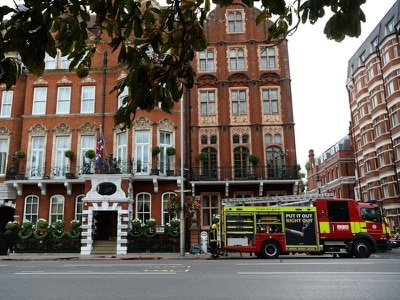 Five-star hotel evacuated after chemical spill