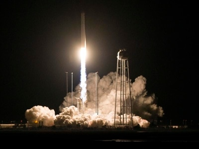 Second shipment of supplies blasts off for space station