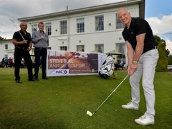 Wolves legend Steve Bull tees off for charity golf day