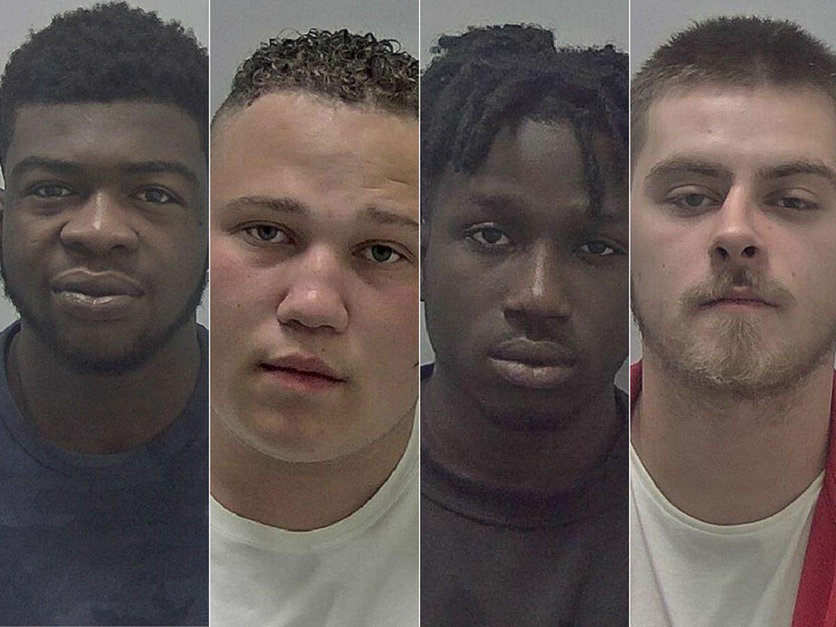Mass brawl – Andrew Prempeh, Declan Taverner, Neon Manu and Tyler Love