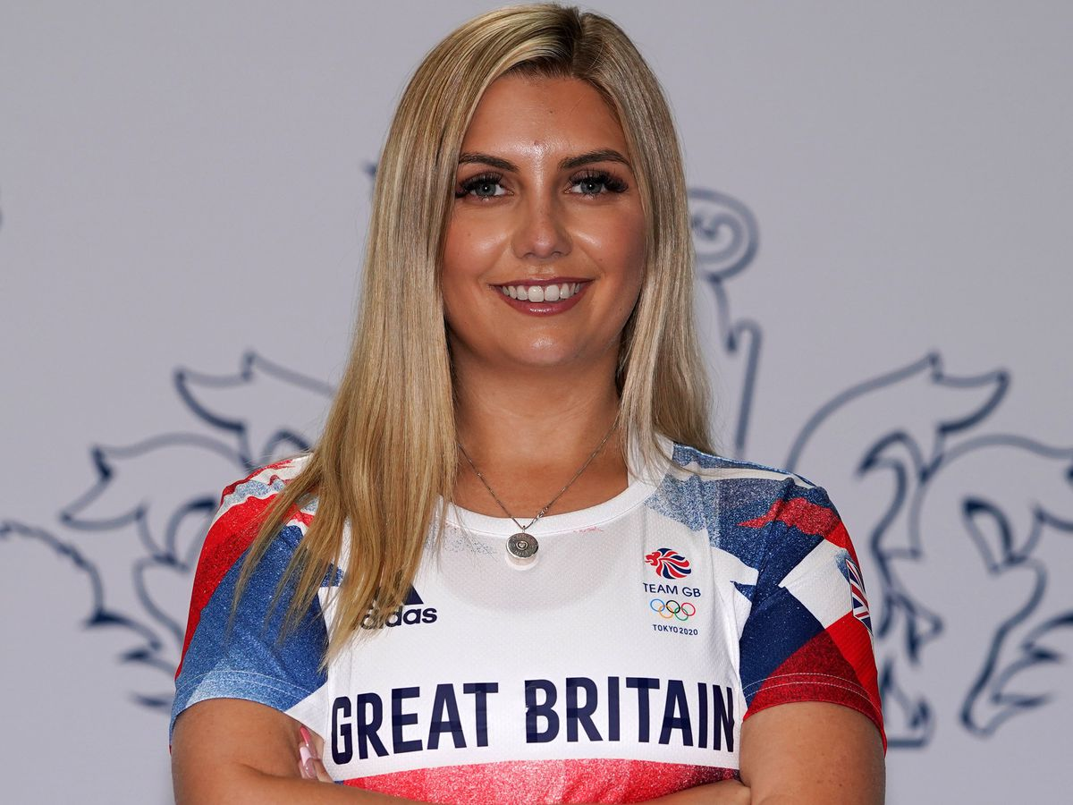 Amber Hill has been forced to withdraw from Tokyo 2020