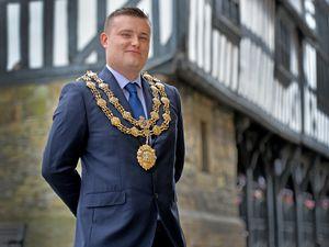 Councillor Dan Thomas, mayor of Much Wenlock