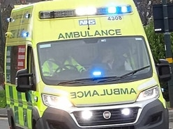 Man taken to hospital after car hits stationary bus in Telford