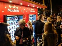 Charitable vending machines open in London