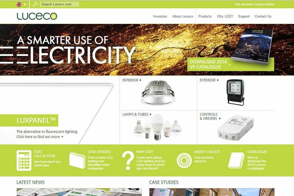 flotation for 209m led lighting company based in telford