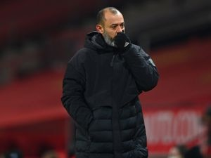 Nuno Espirito Santo the manager / head coach of Wolverhampton Wanderers at full time. (AMA)