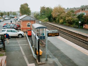 No trains are stopping at Ludlow station at the moment