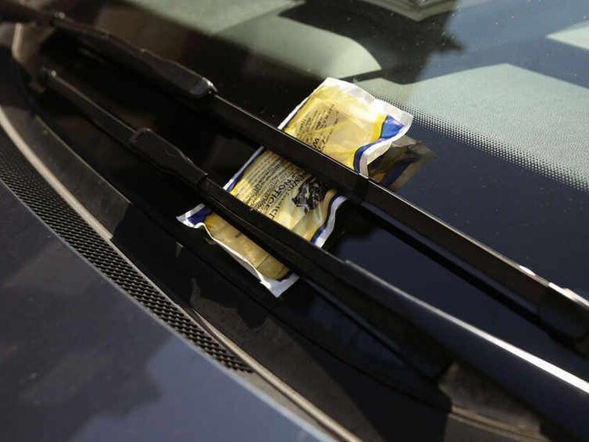 Two streets have half of parking fines