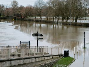 February's flooding in Shrewsbury