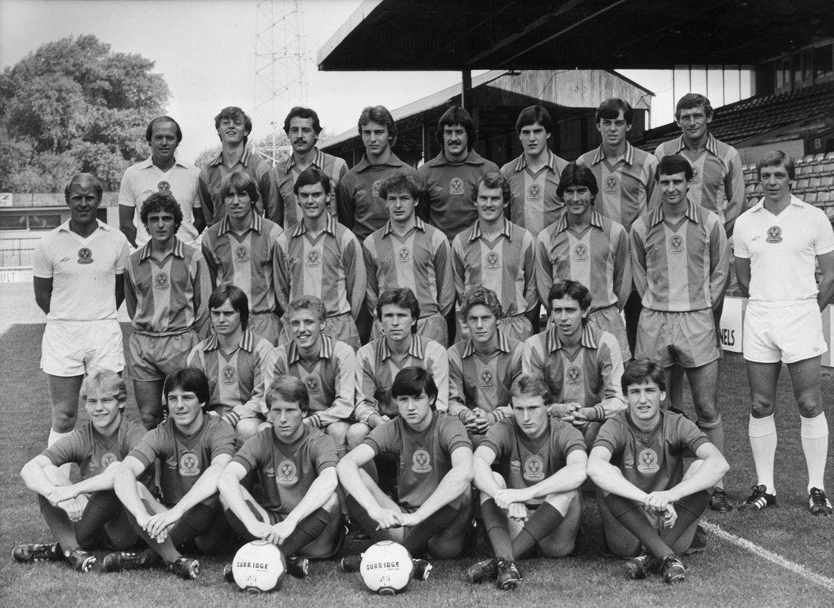 Shrewsbury Town 1981-82.