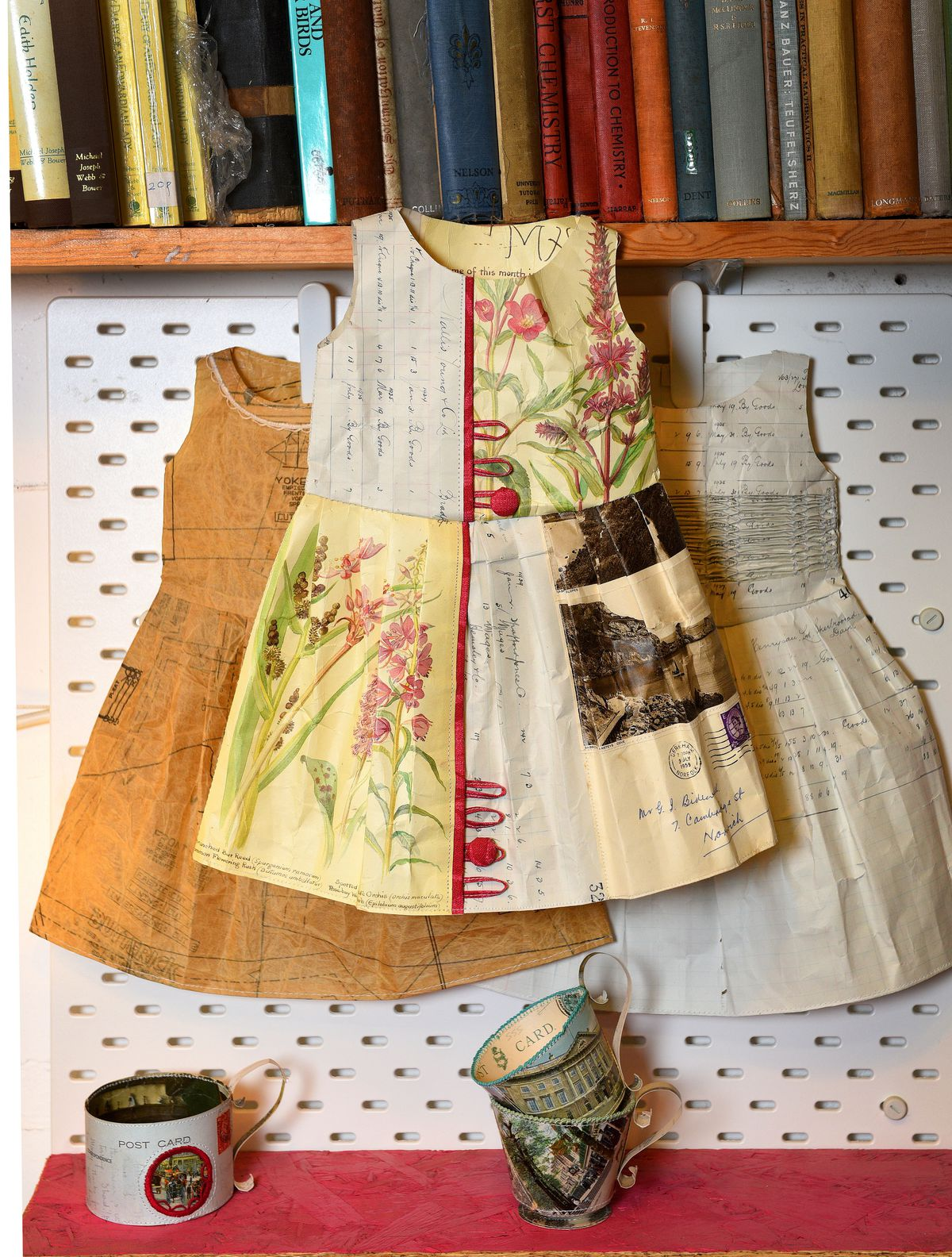 Jennifer started out making paper garments
