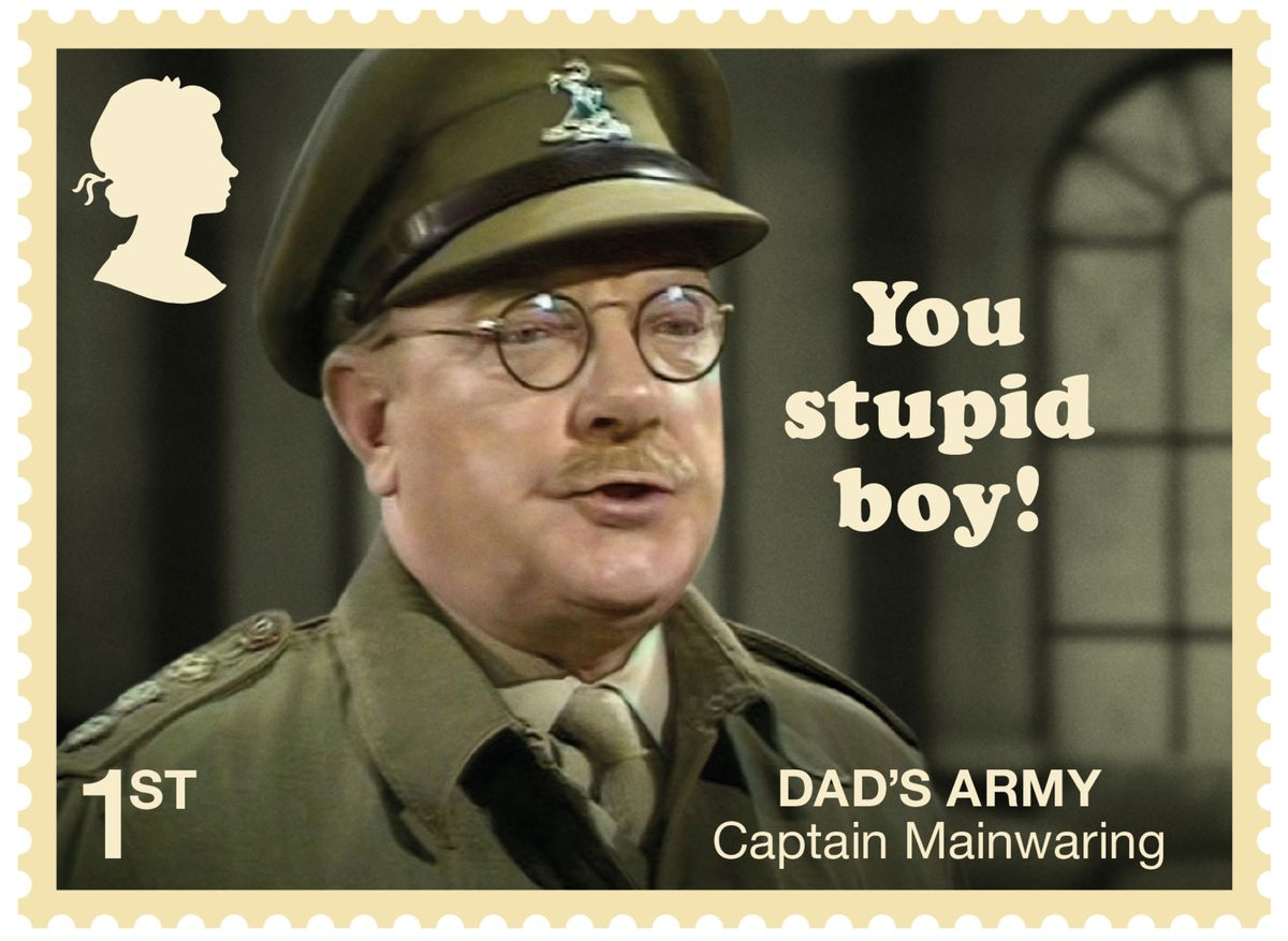 Time to send Capt Mainwaring on a diversity course?