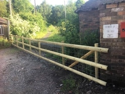 Petition launched after old track in Jackfield blocked off