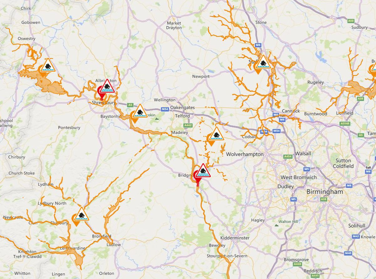 Flood alerts remain in place for the region