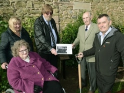 New memorial tree planted at Ludlow Castle to remember Great War soldiers