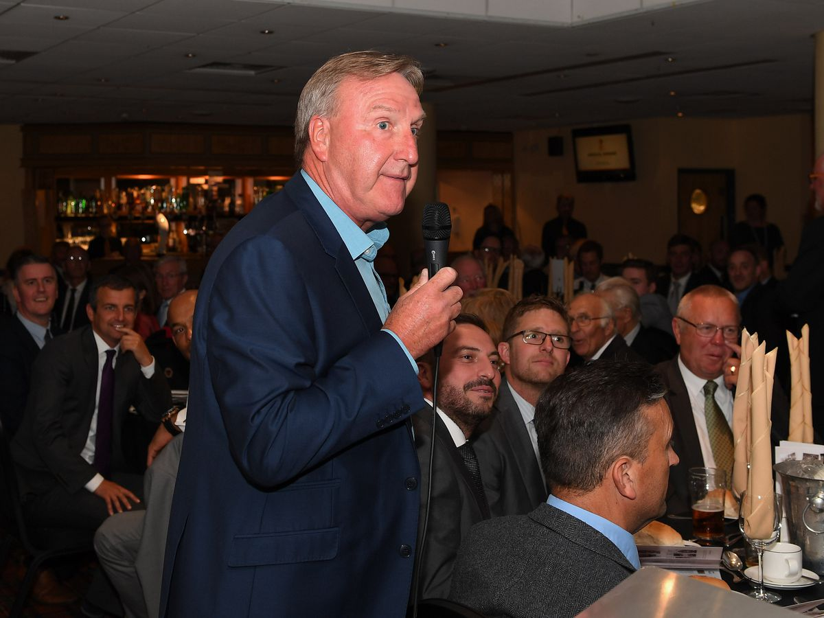 Wolves Hall of Fame - Steve Daley on the mic
