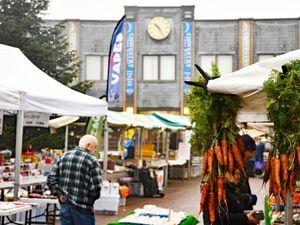Oswestry's Bailey Head market