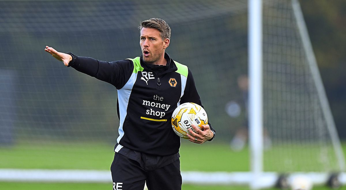 Rob Edwards First Team Coach of Wolverhampton Wanderers (AMA)