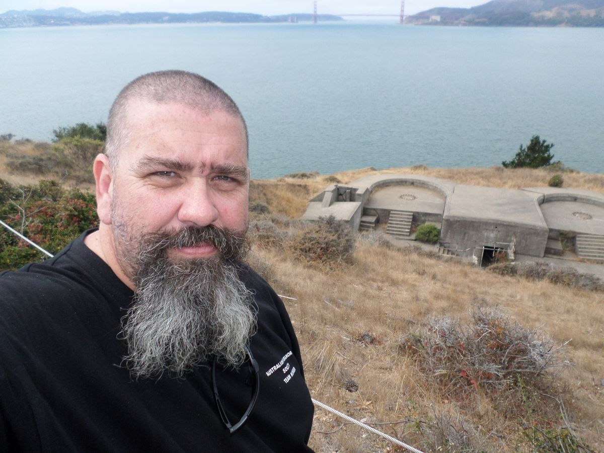 Bill Tabone, founder of the Australian Paranormal Society, will join local investigation group Paranormal Friends to hunt for evidence of the spirit world at Whittington Castle next month.
