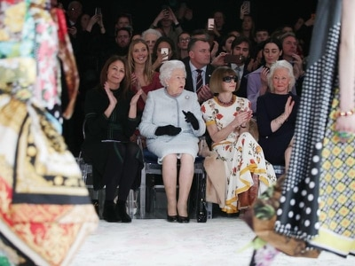 In Pictures: The Queen is on trend at London Fashion Week