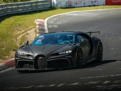 The Bugatti Chiron Pur Sport has been undergoing final testing at the Nurburgring