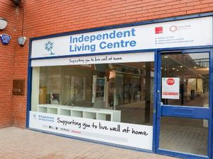 The Independent Living Centre located near Telford shopping centre