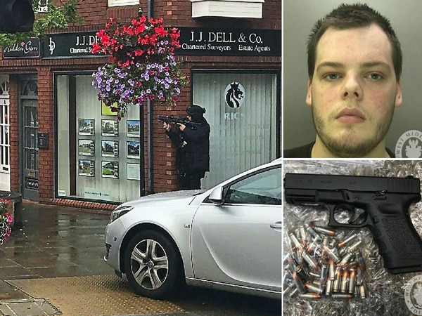 'Dangerous': Jail for man who sparked Oswestry armed police raid