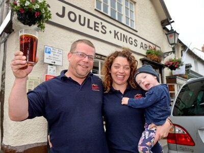 'It feels like we're opening for the first time again': Celebrations as Shropshire pubs reopen