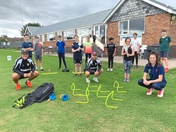 Kids learn from county's captain