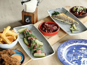 Small but perfectly formed – the tapas hit the spot, expecially the pan-fred chorizo and smoke salted seabass. Pictures by Russell Davies