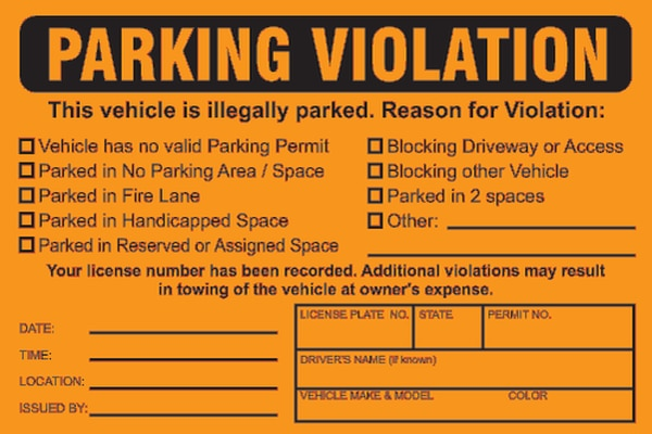 could parking fines issued to shropshire drivers be illegal