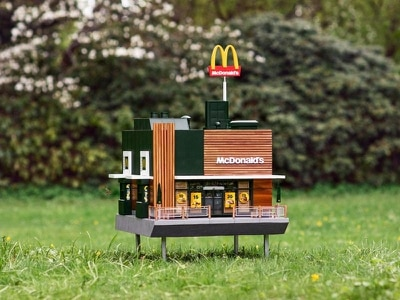 McDonald's creates tiny beehive restaurant replica dubbed the 'McHive'