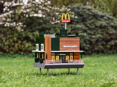 McDonald's creates tiny beehive restaurant replica dubbed the 'McHive'