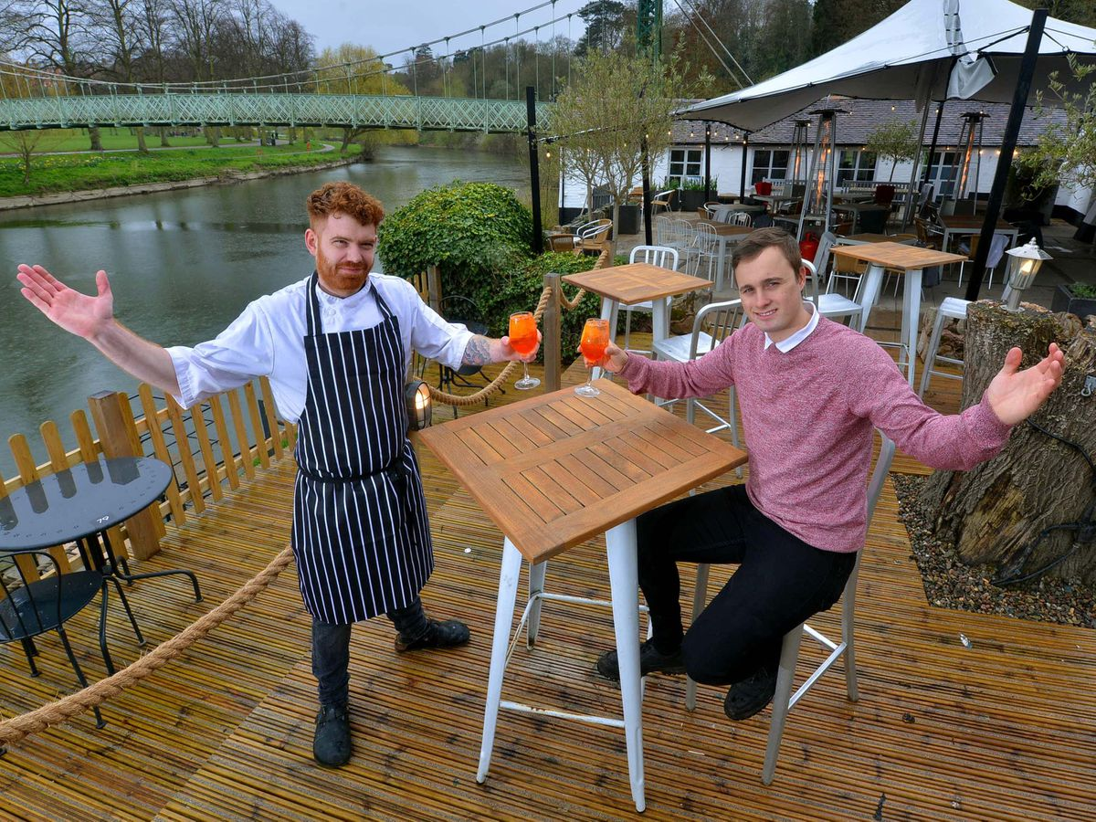 The Boathouse in Shrewsbury is ready to welcome back customers