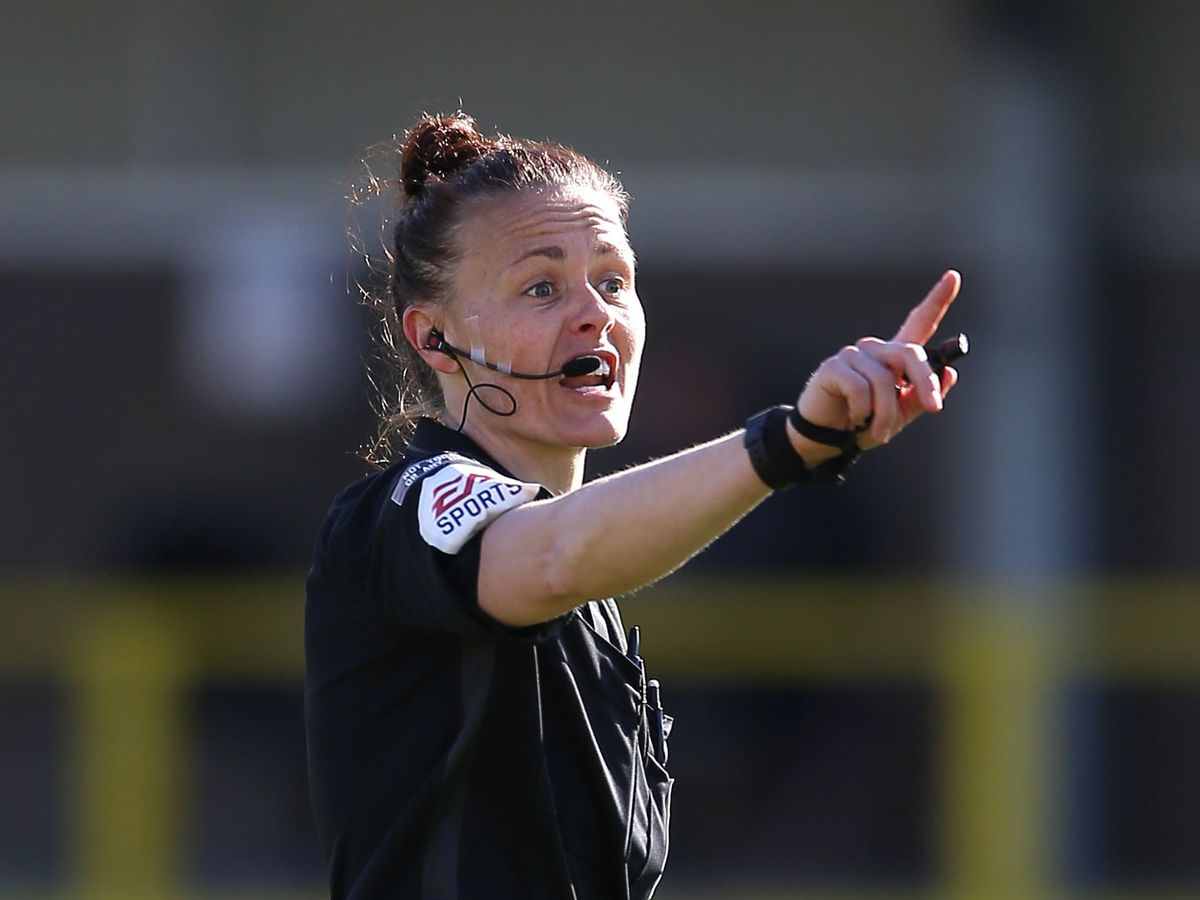 Rebecca Welch is the first female official to be promoted to the EFL's National Group list