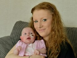 Fundraising campaign for Telford baby smashes £7,000 target
