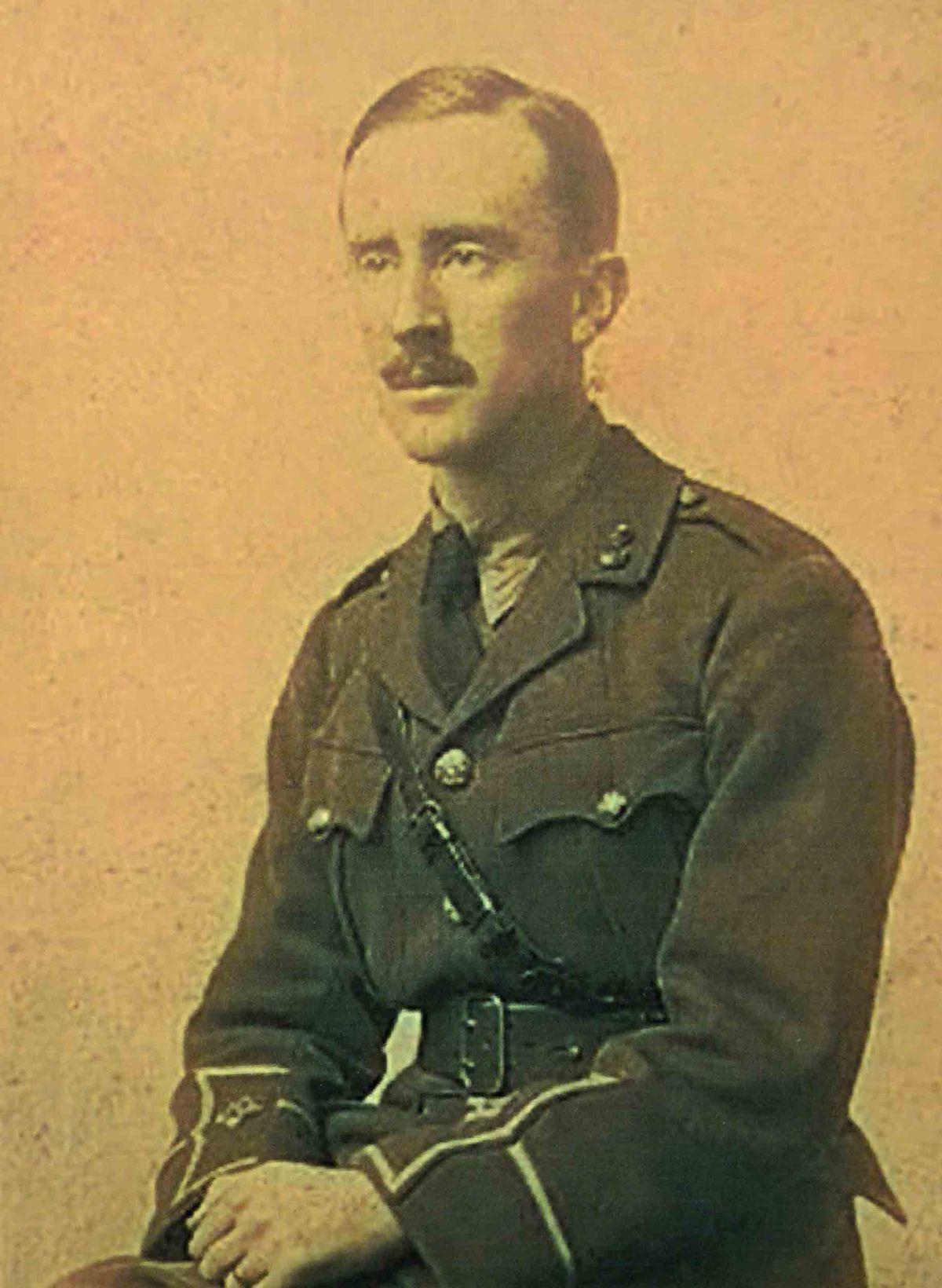 1916 Lieutenant J R R Tolkien