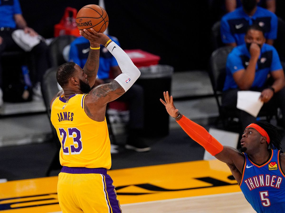 Los Angeles Lakers need overtime to see off Oklahoma City Thunder