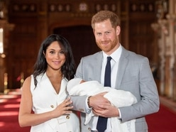 Harry's first Father's Day with baby Archie