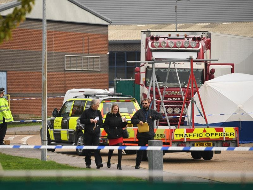 Essex lorry deaths: 39 victims are all Chinese nationals - according to reports