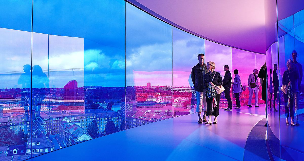 Your Rainbow Panorama: The stunning piece at ARoS Aarhus Art Museum
