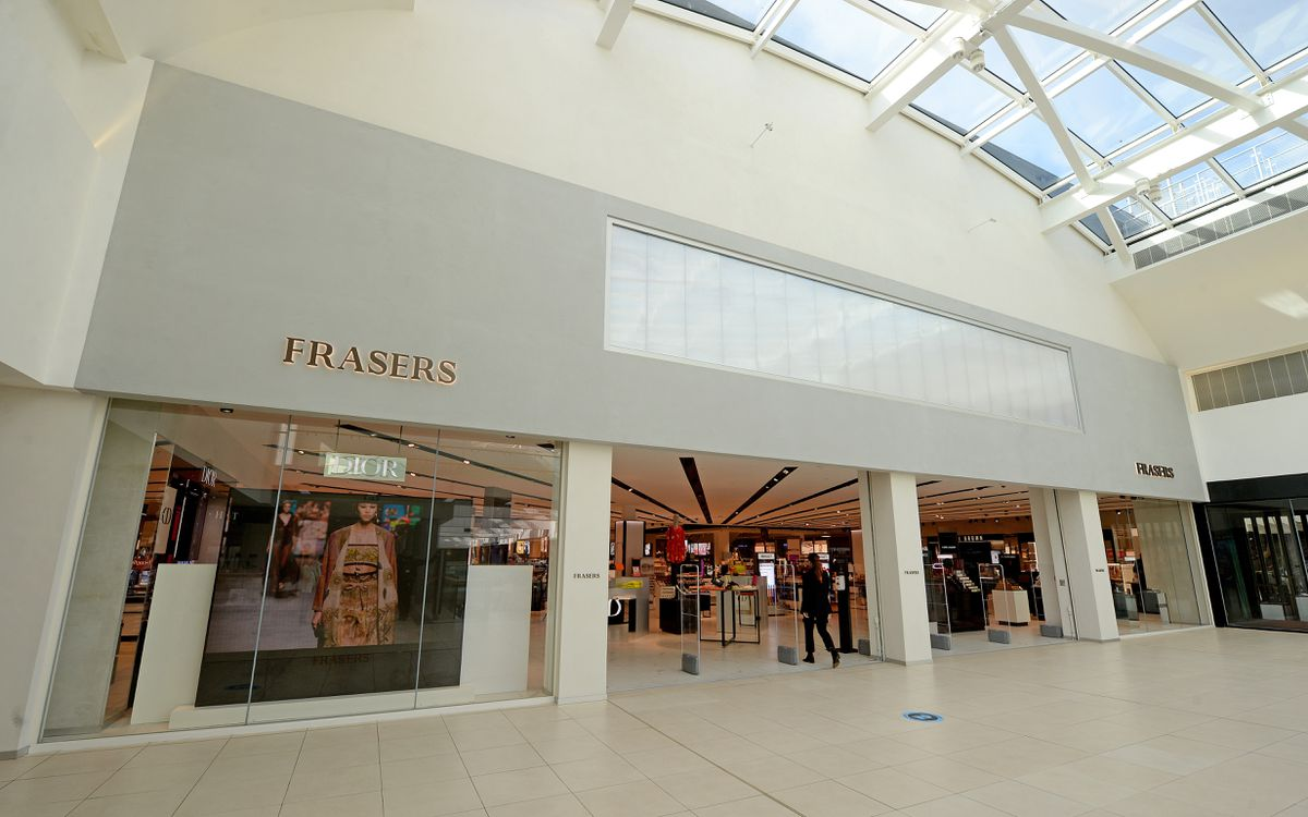 Frasers department store in Wolverhampton