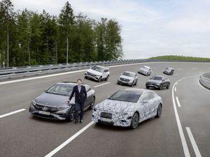 Mercedes-Benz electrification plans