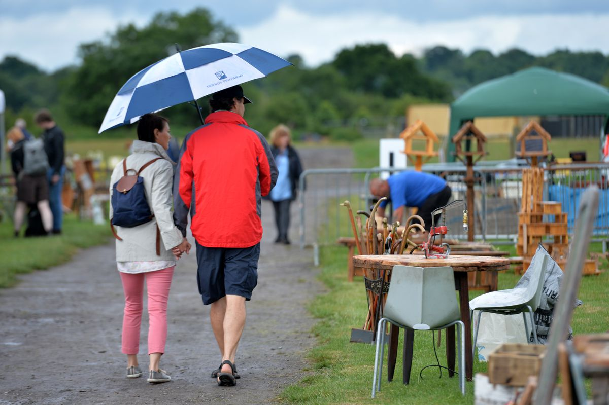 The first antiques fair at West Midlands Showground Shrewsbury since lockdown