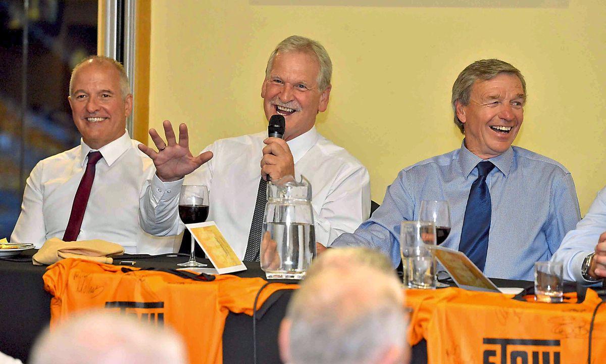 Graham Turner, Steve Bull, Ally Robertson.