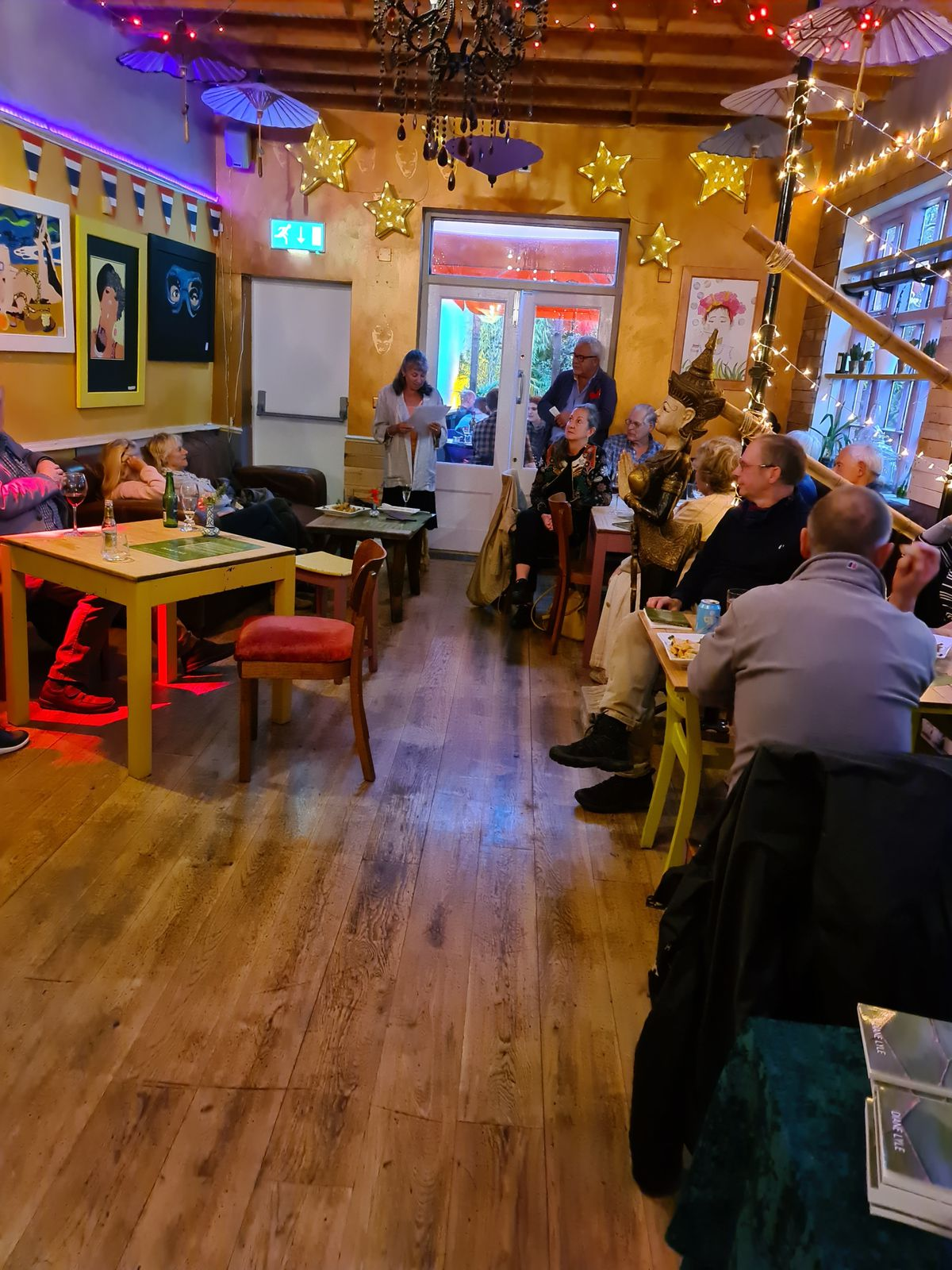 The Patchwork book launch